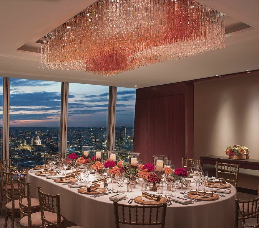 Shangri La at the Shard London | Confetti.co.uk