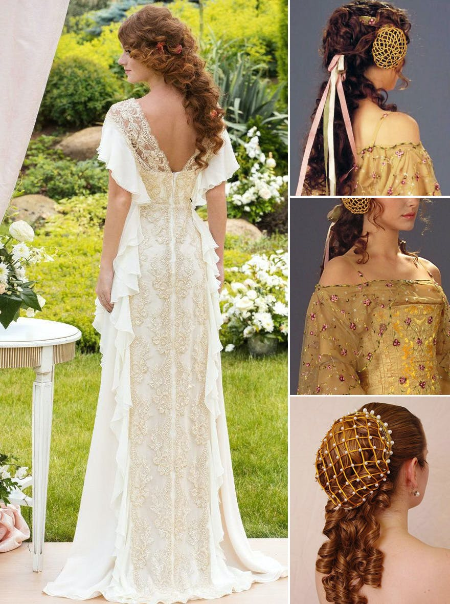 Padme Yellow Dress Star Wars Attack of the Clones Inspired Wedding | Confetti.co.uk