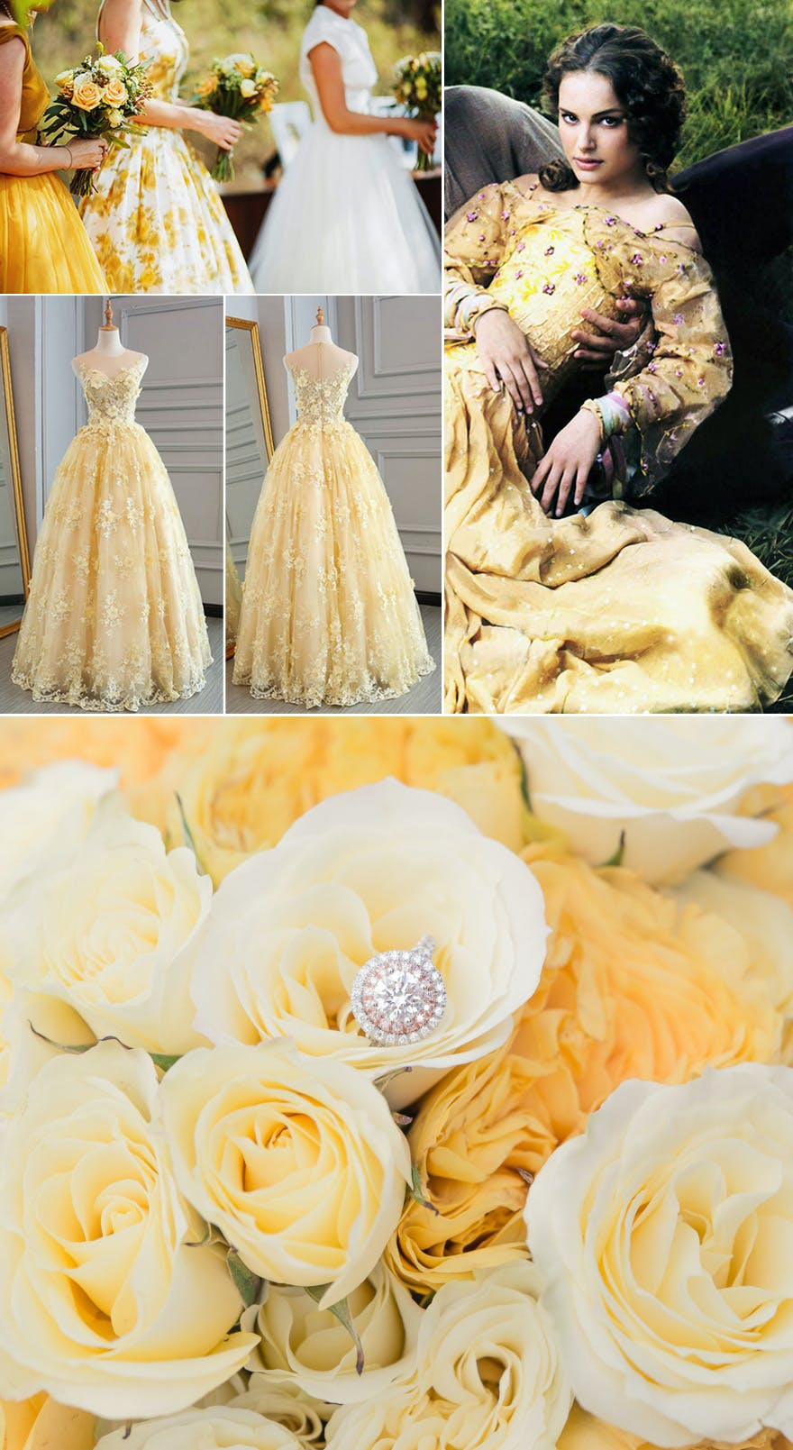 Padme Yellow Picnic Dress - Wedding Ideas and Inspiration | Confetti.co.uk