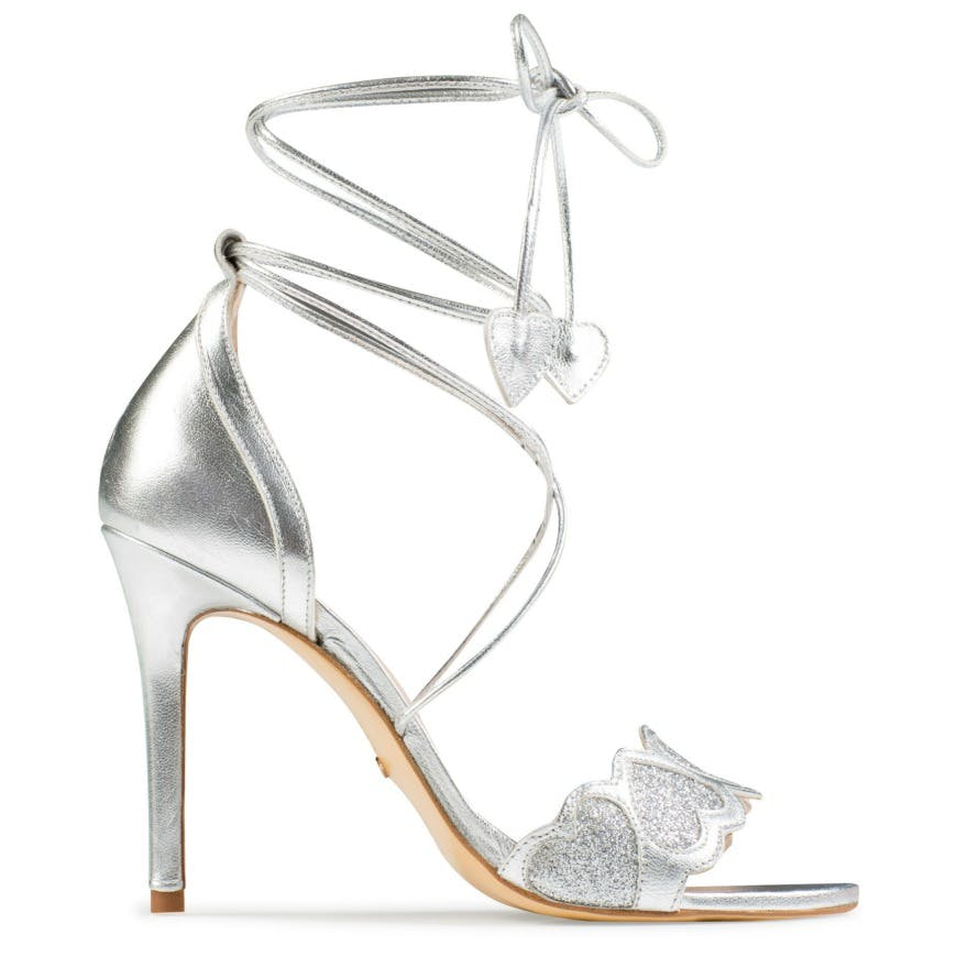 Silver Bridesmaid Shoes Charlotte by Charlotte Mills | Confetti.co.uk