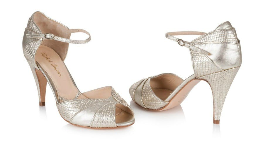 8e86891ca18 Silver Bridesmaid Shoes