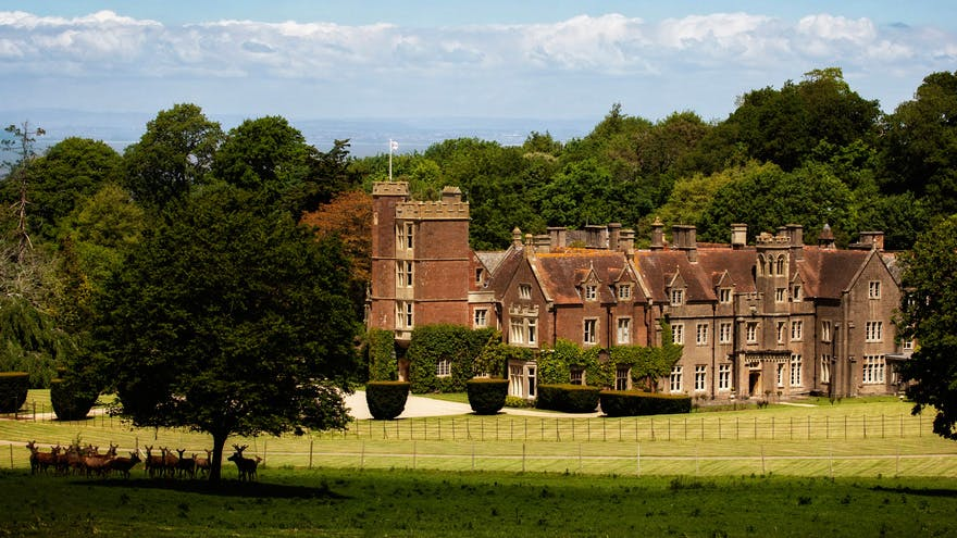 St Audries Park Beautiful Manor House Wedding Venue by the Coast in Somerset - Majestic Stately Home Deer Park and Parkland Wedding Venues | Confetti.co.uk