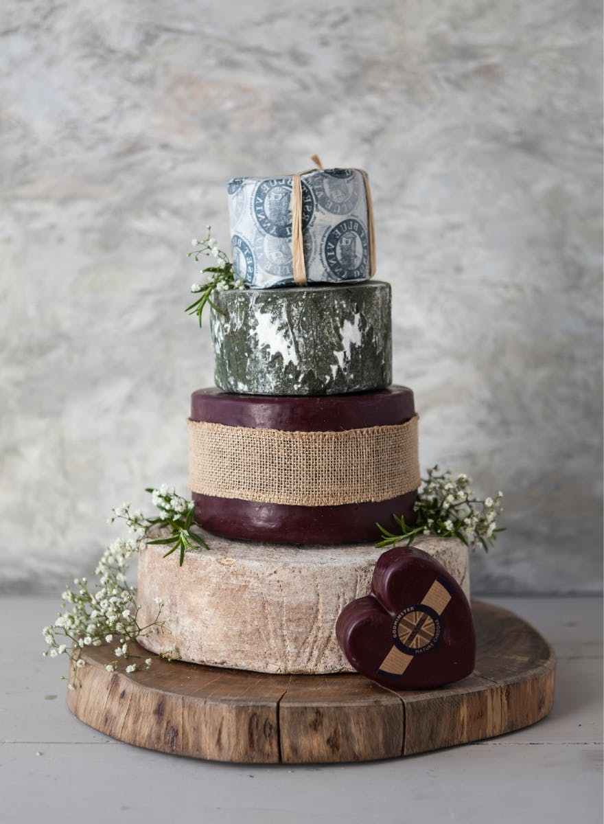 The Cheese Wedding Cake