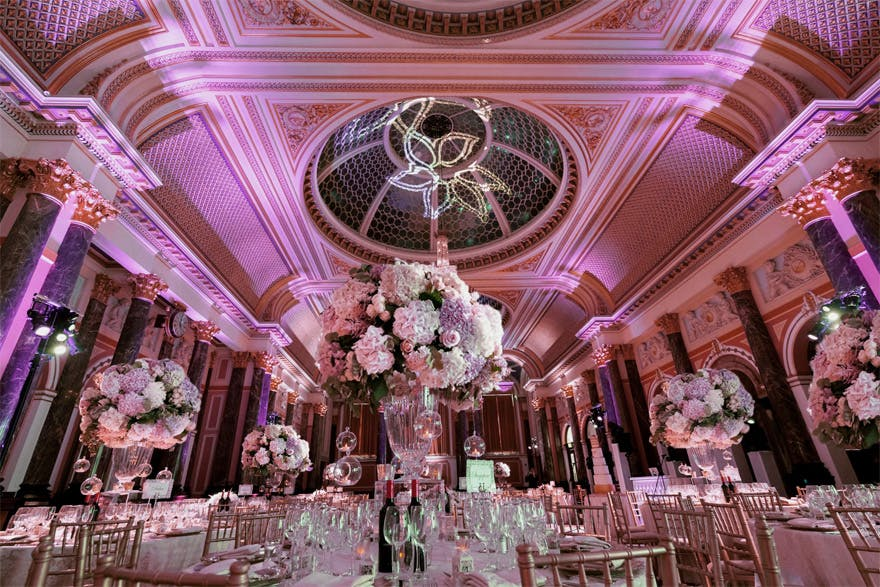 Gibson Hall Historic Grade I Listed Wedding Venue Asian In London Marble