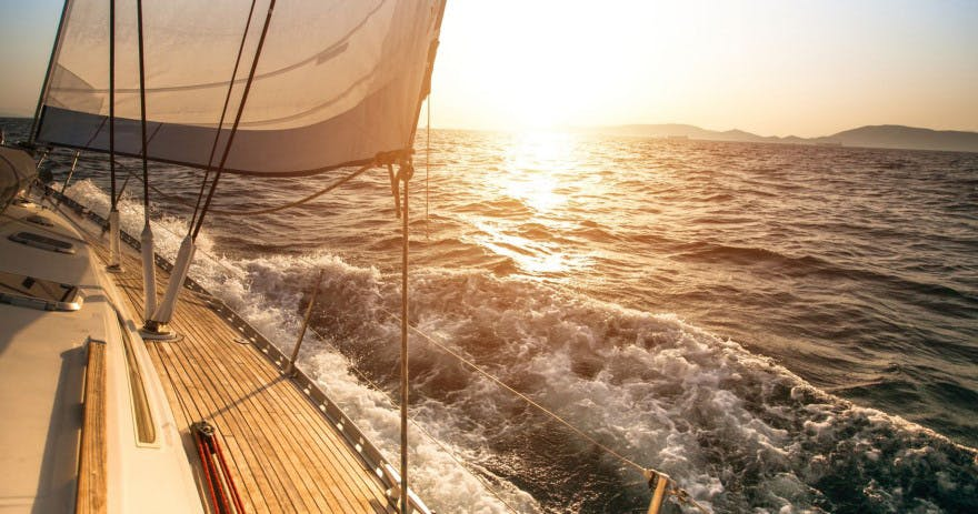 VIP Sunset Cruise Champagne and Dinner for Two in Granger Bay in Cape Town by Tinggly | Confetti.co.uk