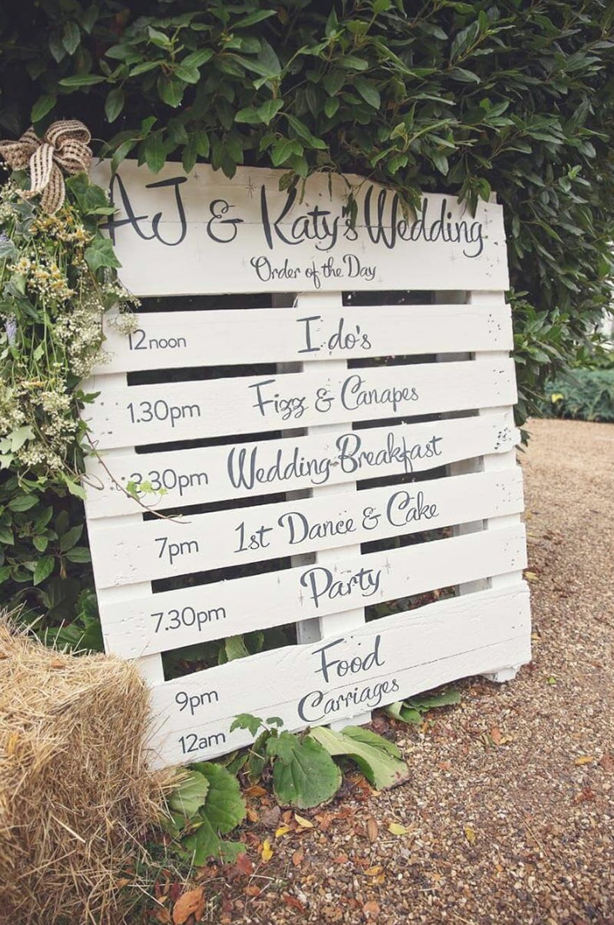 Marquee Wedding From Energy Photographic Timeline Sign Ideas Best Signs Pallet