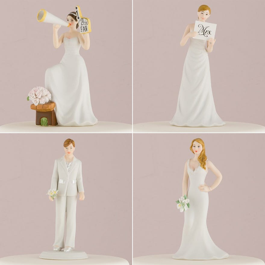 Wedding Cake Toppers 57 Fun Cake Topper Ideas Confetti Co Uk