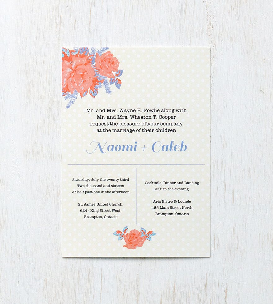 Vintage Wedding Invitations: 15 Beautiful Examples to Inspire You ...