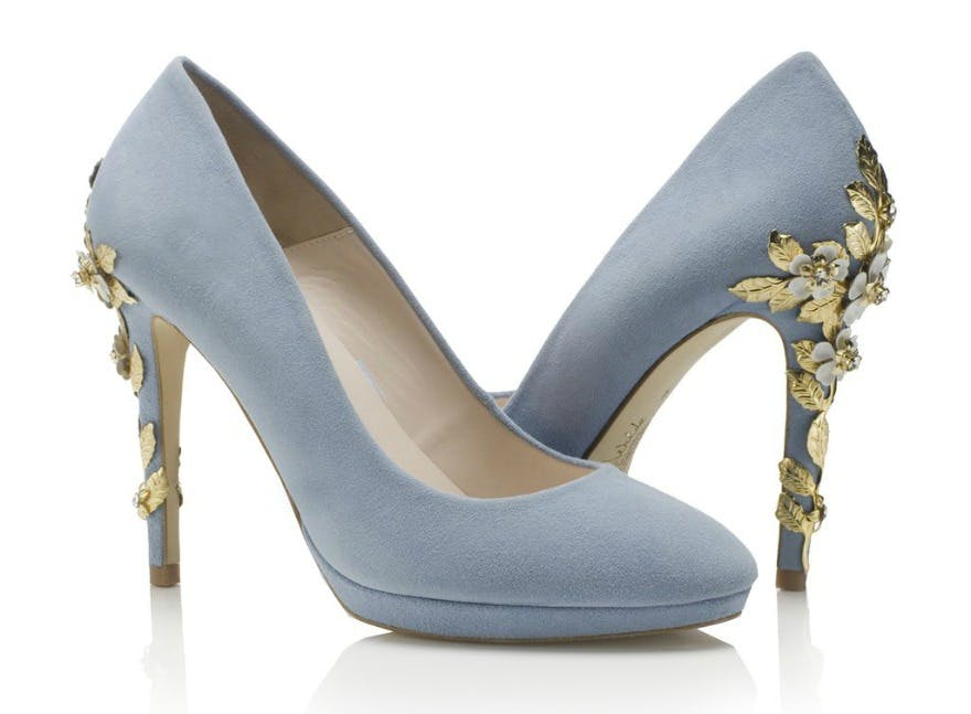 5cc2ae495b31 Blue Wedding Shoes  Your Something Blue - Confetti.co.uk