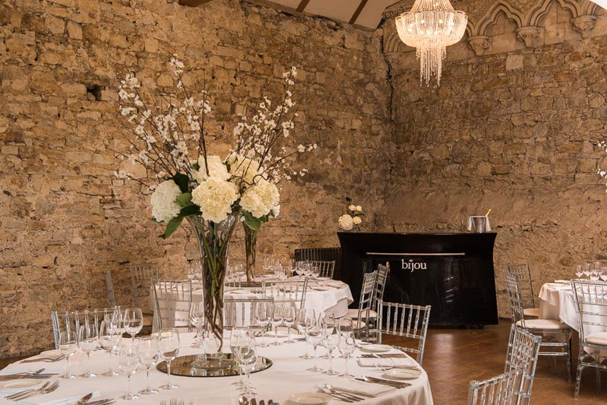 Notley Abbey Historic Wedding Venue by Bijou Wedding Venues | Confetti.co.uk