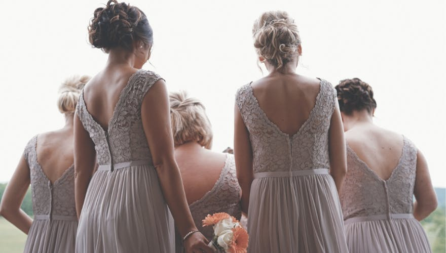 bridesmaid asked to buy own dress