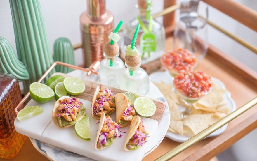 tacos and cocktails