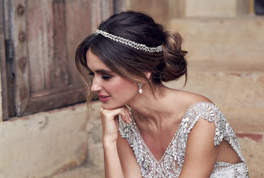 Messy Updo Wedding Hair Inspiration For Relaxed Brides