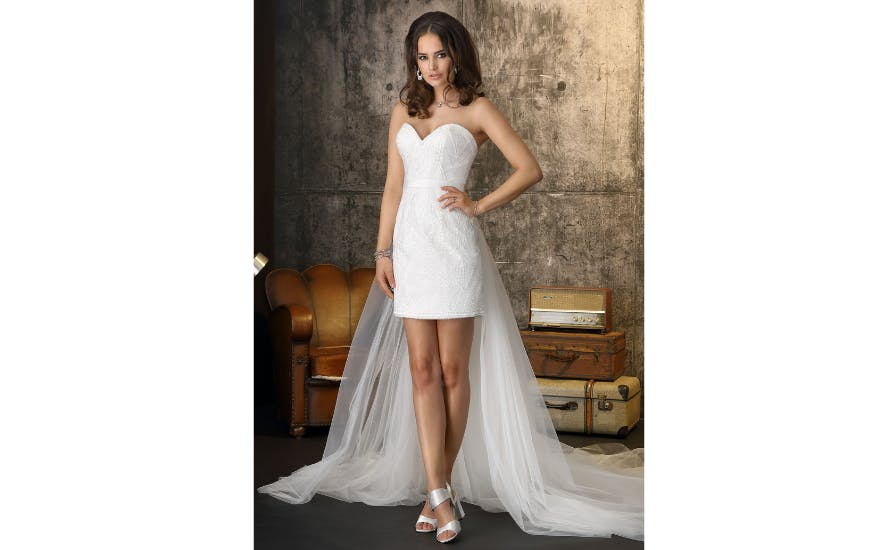 short-wedding-dress-with-cape