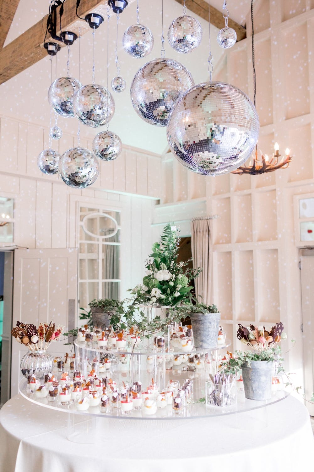 mirror-ball-in-barn-wedding-venue