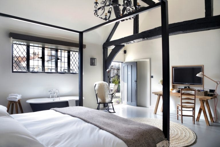 A Courtyard Suite at The Crown Inn