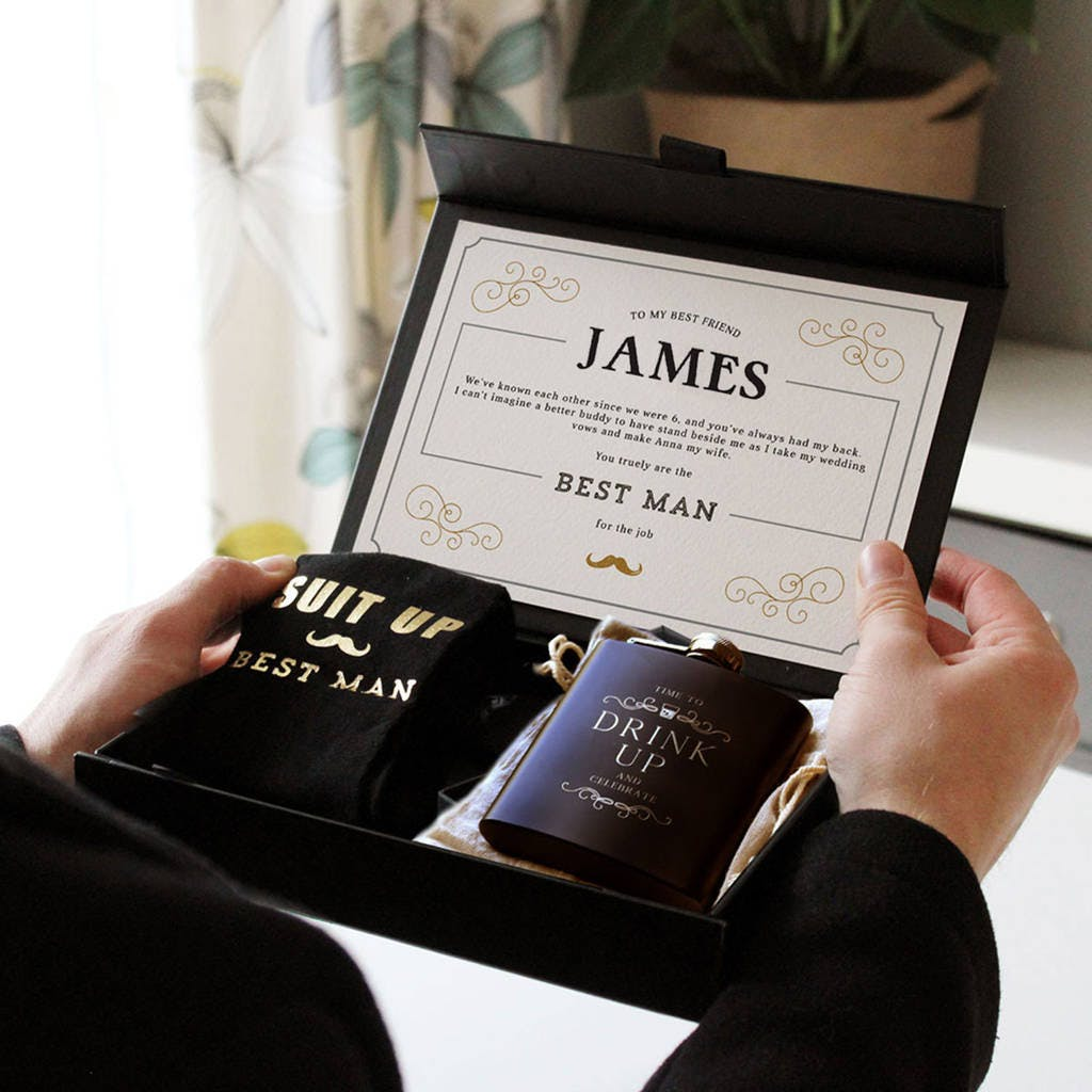 Will you be my best man