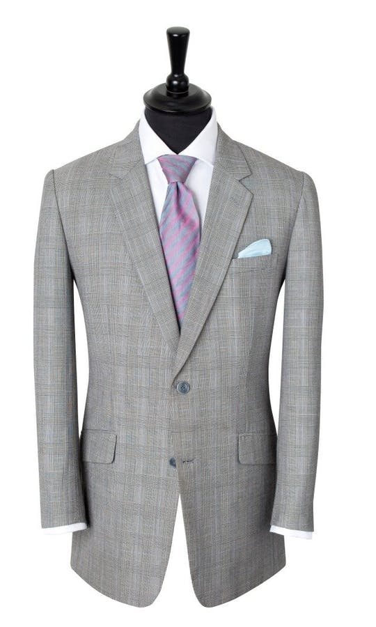 King & Allen Bespoke Suits Check Suit #1