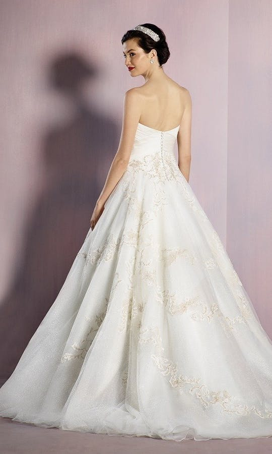 b98cd44159 Disney Wedding Dresses Alfred Snow White Wedding Dress  Ivory wedding dress  - Alfred .