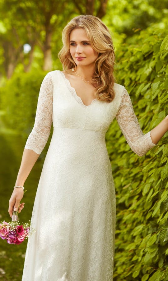 Alie Street 2016 Anya Lace Gown #1