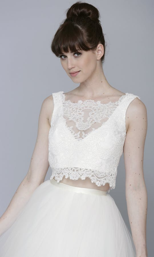 Theia Couture Spring 2016 Leah Bridal Top: 890246 #1