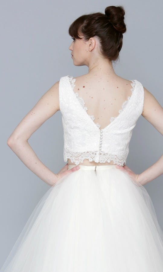 Theia Couture Spring 2016 Leah Bridal Top: 890246 #2