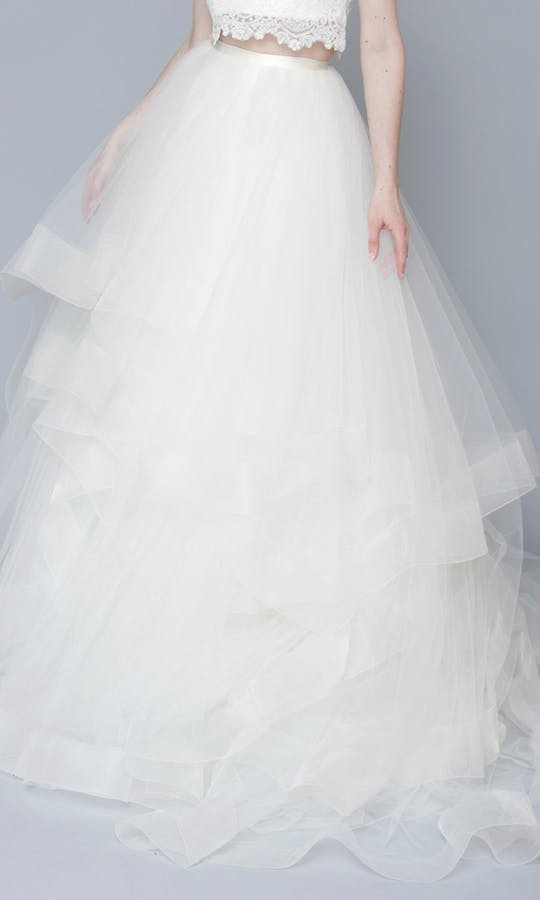 Theia Couture Spring 2016 Lilly Bridal Skirt: 890251 #1