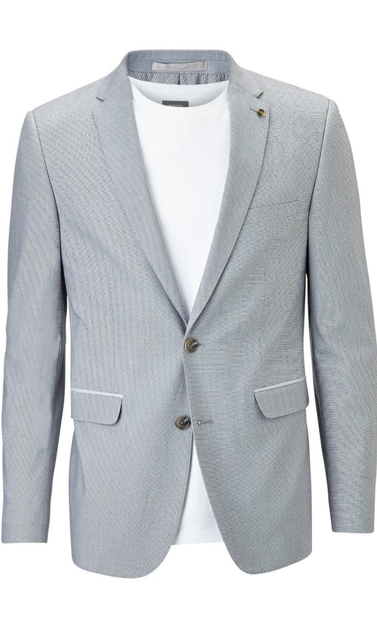 Burton Smart Occasion Slim Fit Cotton Suit #4