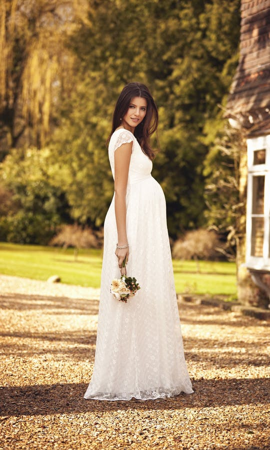 459515e8801 Florence maternity wedding dress - Tiffany Rose  2016 - Confetti.co.uk