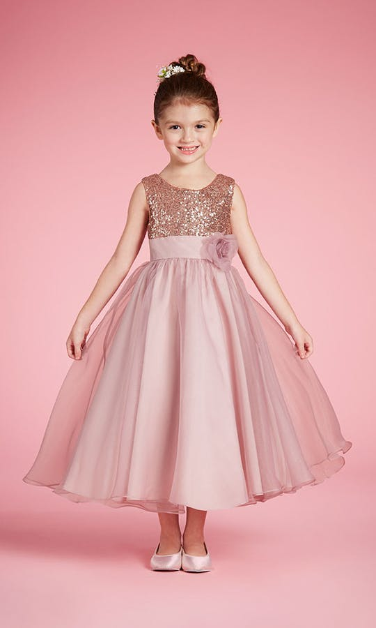 aa74a1f5a6d 740 flower girl dress - Alfred Angelo  2017 - Confetti.co.uk