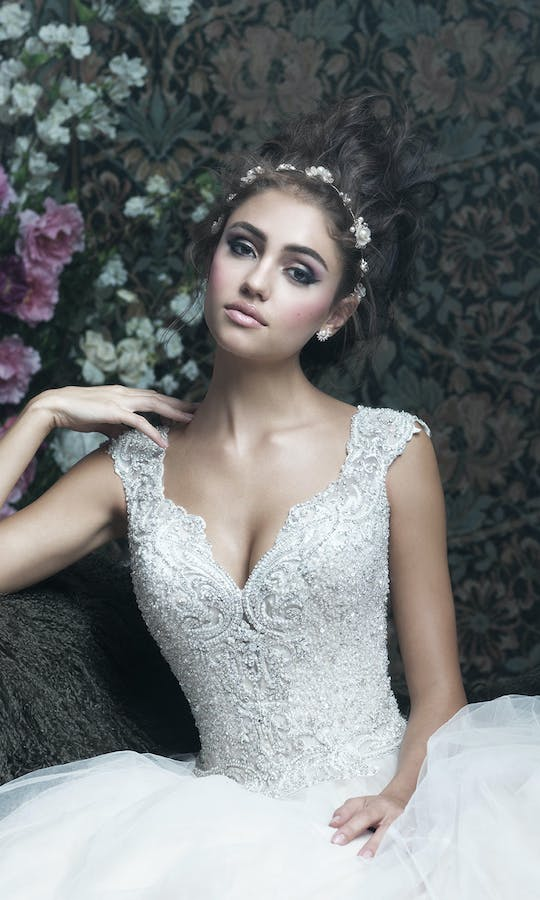 Allure Bridals 2017 Couture C407 #2