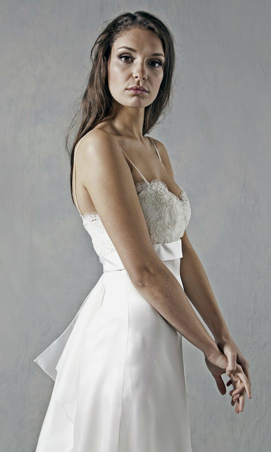 Lucy Martin Bridal The Collection Bustle Wedding Dress #2