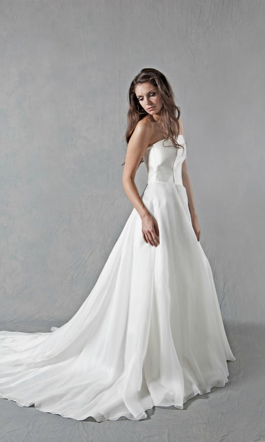 Lucy Martin Bridal The Collection Full Skirt Wedding Dress #1