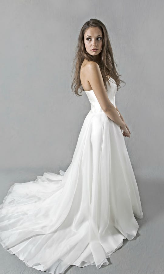 Lucy Martin Bridal The Collection Full Skirt Wedding Dress #2