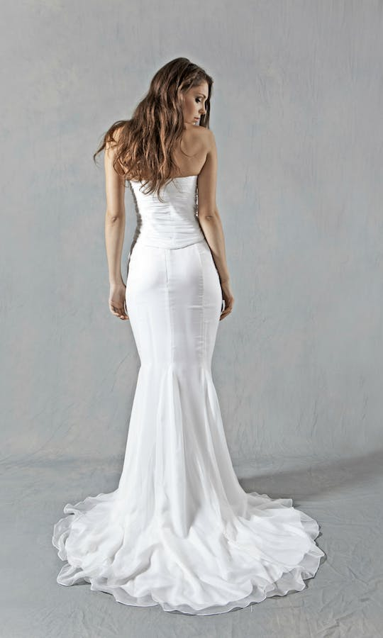 Lucy Martin Bridal The Collection Mermaid Wedding Dress #1