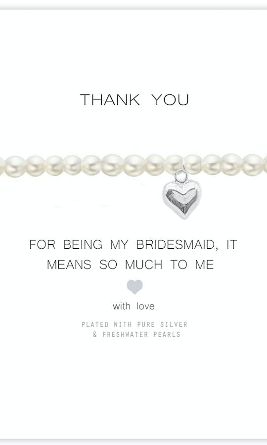 Life Charms The Wedding Collection Thank You Bridesmaid Bracelet #1