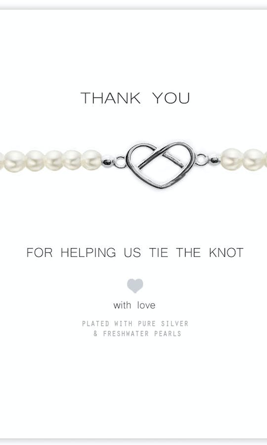 Life Charms The Wedding Collection Thank You For Helping Us Bracelet #2