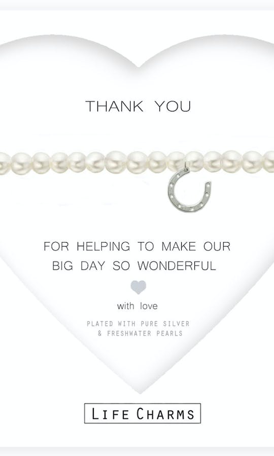 Life Charms The Wedding Collection Thank you for Helping #1