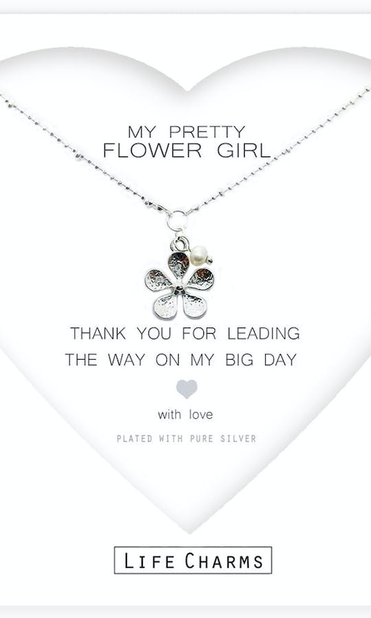 Life Charms The Wedding Collection My Pretty Flower Girl Necklace #1