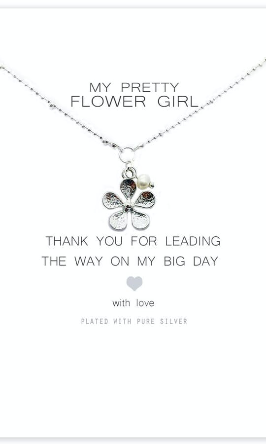 Life Charms The Wedding Collection My Pretty Flower Girl Necklace #2