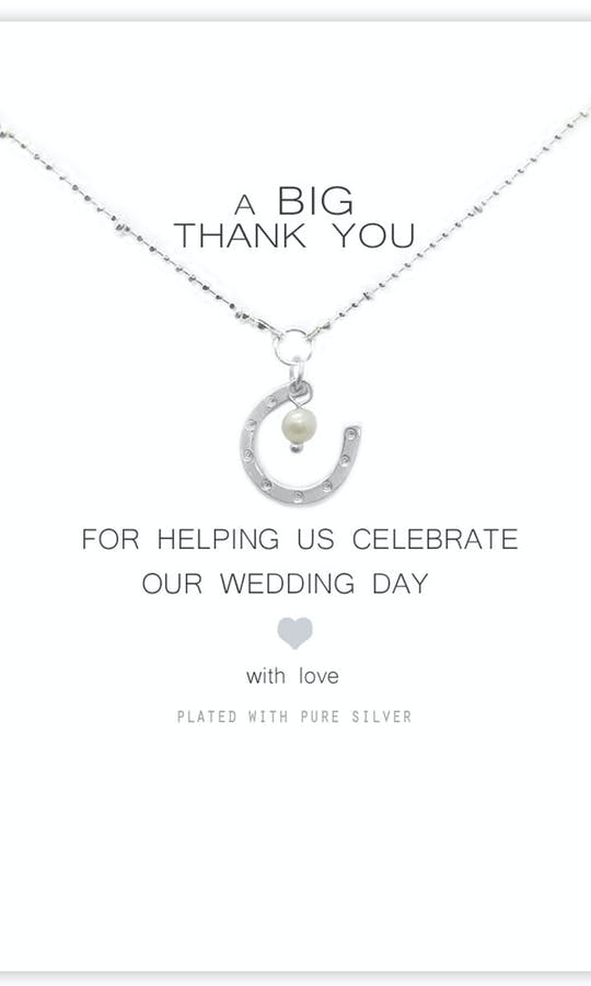 Life Charms The Wedding Collection A Big Thank You Necklace #1