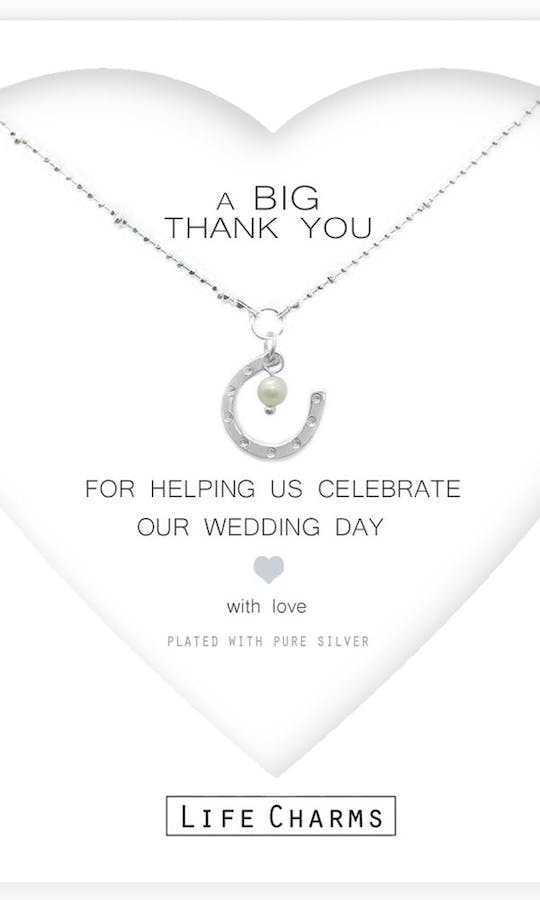Life Charms The Wedding Collection A Big Thank You Necklace #2