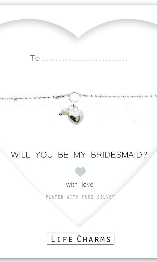 Life Charms The Wedding Collection Will You Be My Bridesmaid Bracelet #1