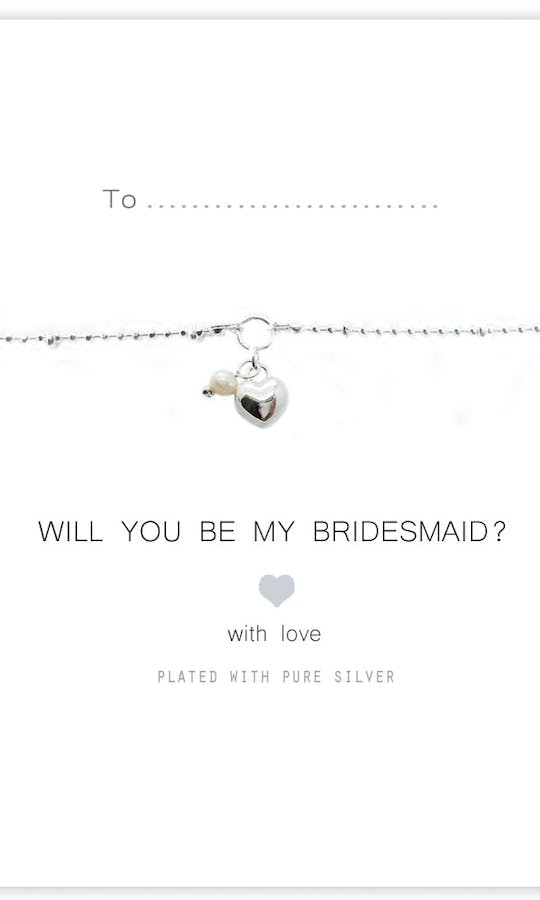 Life Charms The Wedding Collection Will You Be My Bridesmaid Bracelet #2