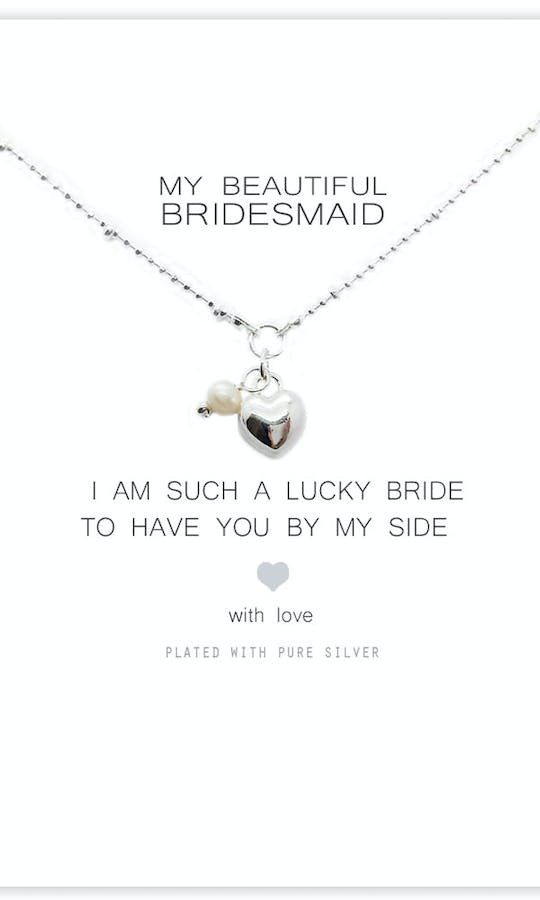 Life Charms The Wedding Collection My Beautiful Bridesmaid Necklace #1