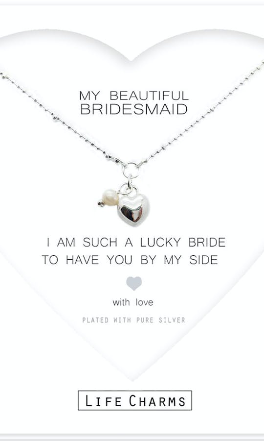 Life Charms The Wedding Collection My Beautiful Bridesmaid Necklace #2
