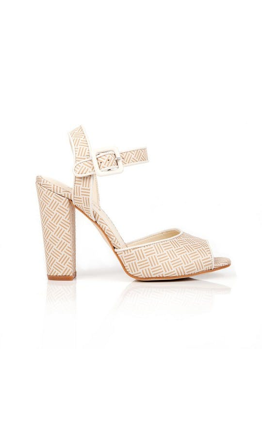 Beyond Skin Bridal Collection Cream Charlotte Sandals #1