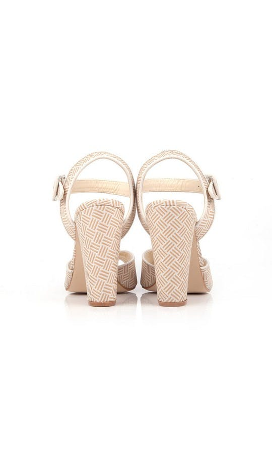 Beyond Skin Bridal Collection Cream Charlotte Sandals #3