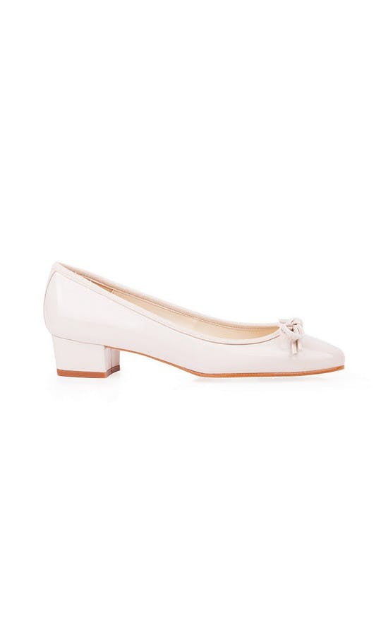 Beyond Skin Bridal Collection Coco Cream Mid Heel Shoes #1