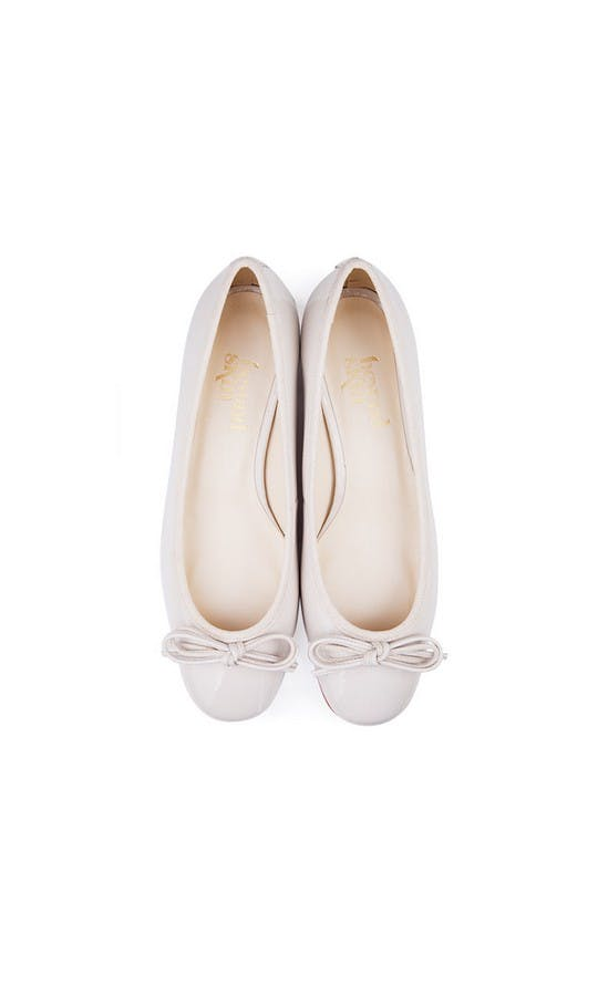Beyond Skin Bridal Collection Coco Cream Mid Heel Shoes #2